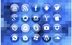 A picture of app logos