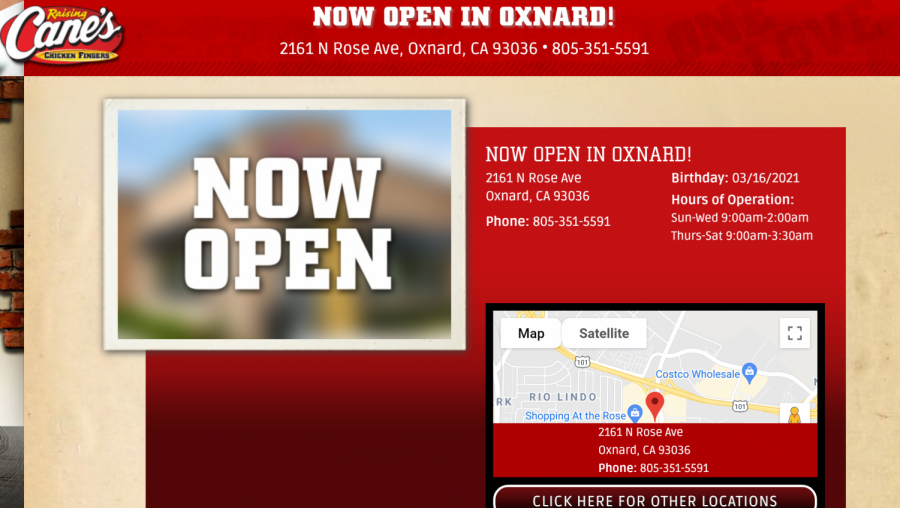 Raising Canes is Coming to Oxnard! What to Expect When They Arrive